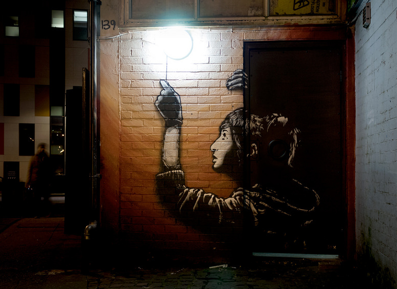 thesis on banksy